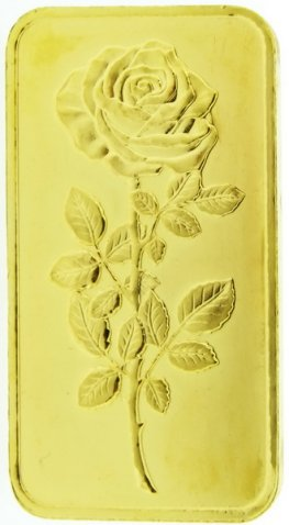 Gold bar 50 Grams - Pure gold 999.9